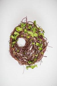 random vessel with vines by Birgit Moffatt