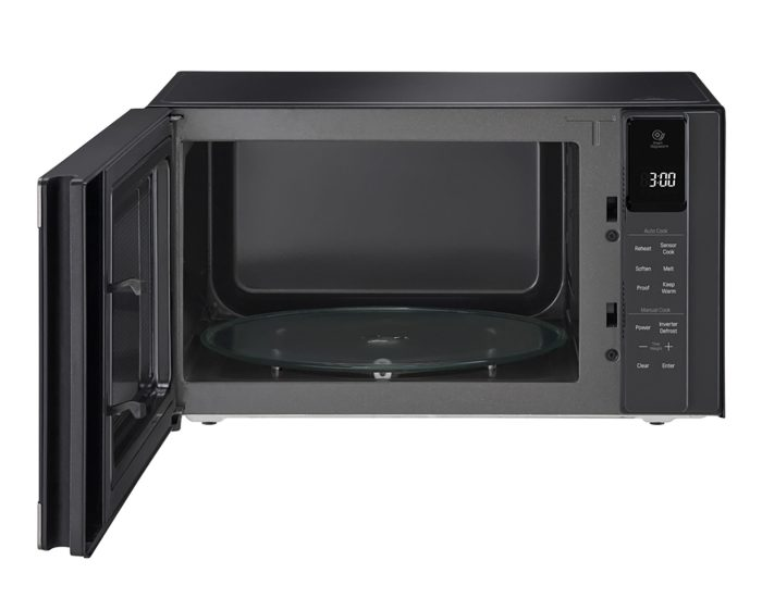 lg 42l smart inverter microwave oven black stainless ms4296obss