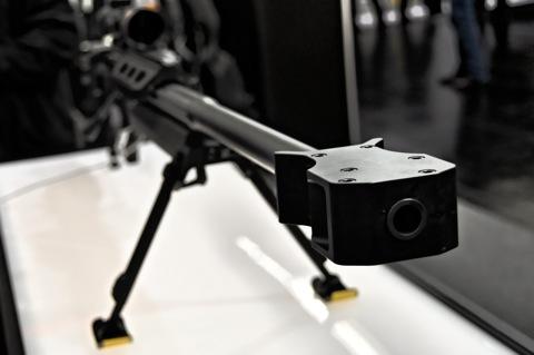 Bild: Absolute Präzision - Detailansicht Scharfschützengewehr STEYR HS.50.