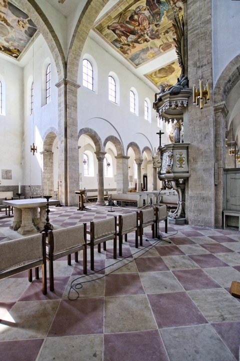 Bild: Im Kloster Huysburg.