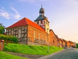 Bild: Die Kirche zu Molmerswende.