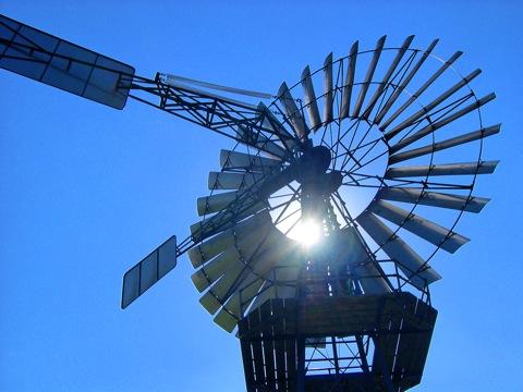 Bild: Windrad auf dem Mönchgut - Insel Rügen.