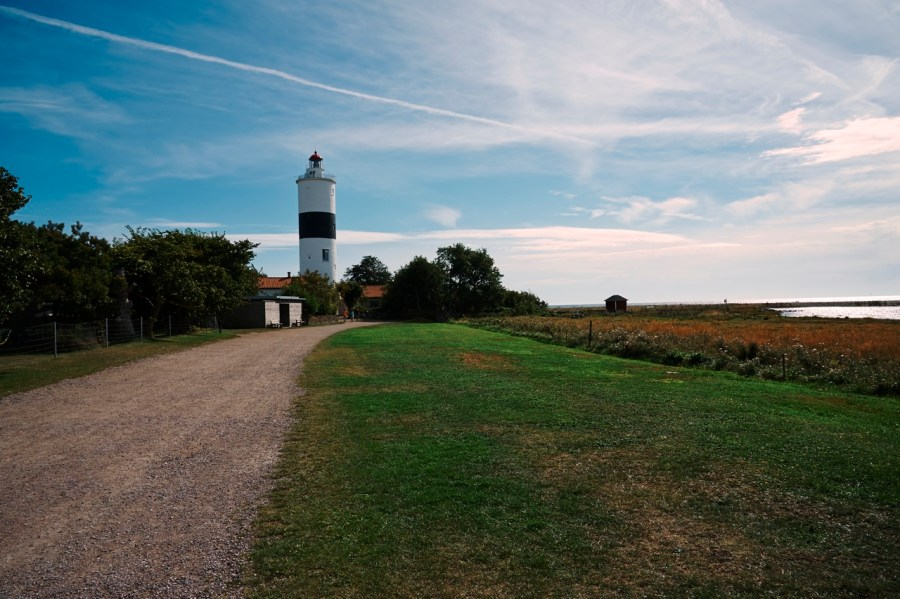 Bild: Der Leuchtturm Långe Jan an der Südspitze der Insel Öland mit NIKON D700 und AF-S NIKKOR 24-120 mm 1:4G ED VR.