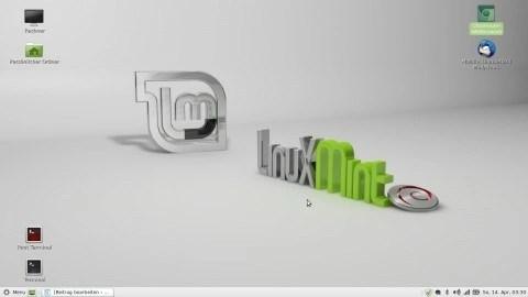 Bild: Der MATE Desktop von LMDE 210303. Klicken Sie auf das Bild um es zu vergrößern.