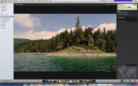 Bild: Auch iPhoto wird eingestellt und durch Photos ersetzt. Die Fotos werden in der iCloud gespeichert.