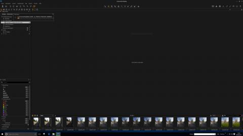 Bild: Der Import der Fotos in die Datenbank von Phase One Capture One dauert ein wenig.
