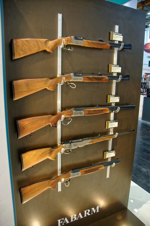 Bild: Praxisgerechte Jagdwaffen des italienischen Herstellers Fabarm.