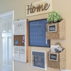 How To Organize My Kitchen Vent Hood 15 Stylish Command Center Ideas | Birkley Lane Interiors