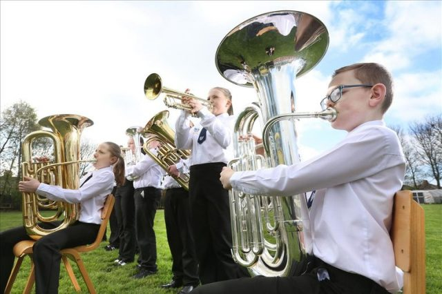 One Show spotlight for Birkwood's young brass stars