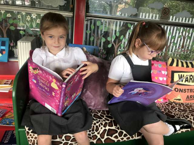 The Butterflies Love to Read!