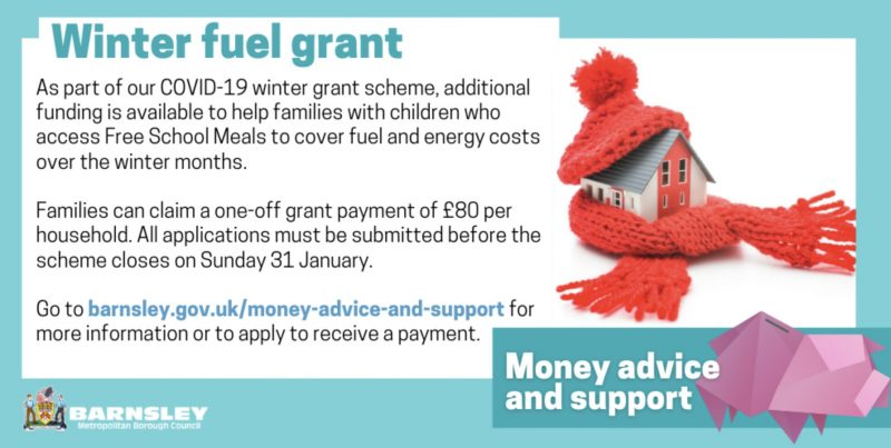 Winter fuel grant deadline approaching