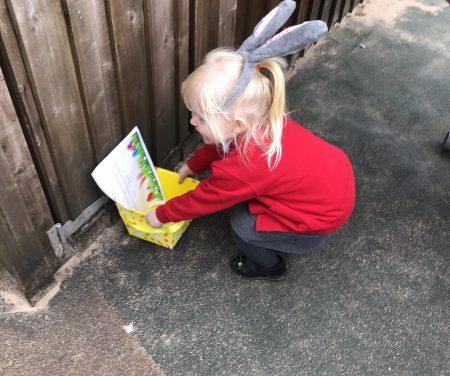 Hop little bunnies… Hop, hop, hop!