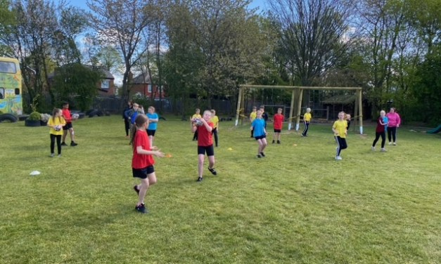 Rugby with the Robins