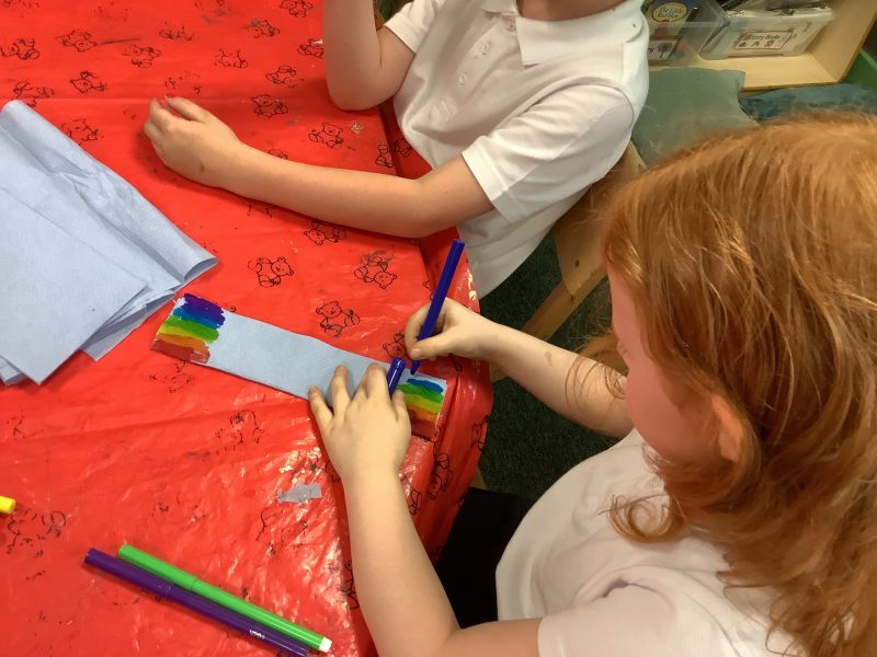 The Year 1 Caterpillars have been exploring our new Wacky Weather topic…