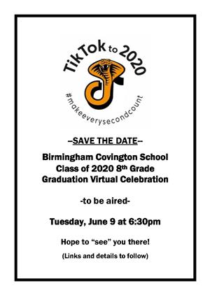 8th Grade Celebration / 8th Celebration