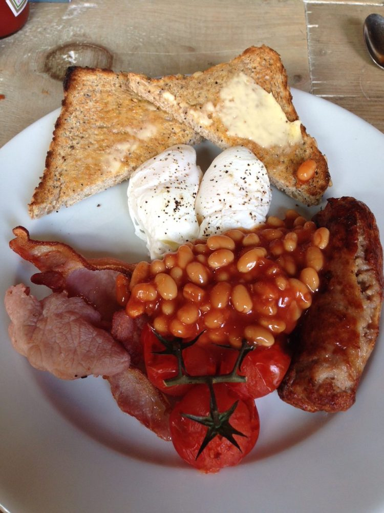 Boston Tea Party Full English Breakfast