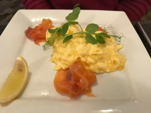 La Haule Manor - Jersey Salmon and Scrambled Eggs