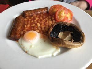 Ollies Cafe - Vegetarian Breakfast