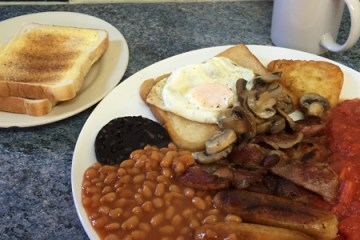 Riland Road Cafe Full English Breakfast