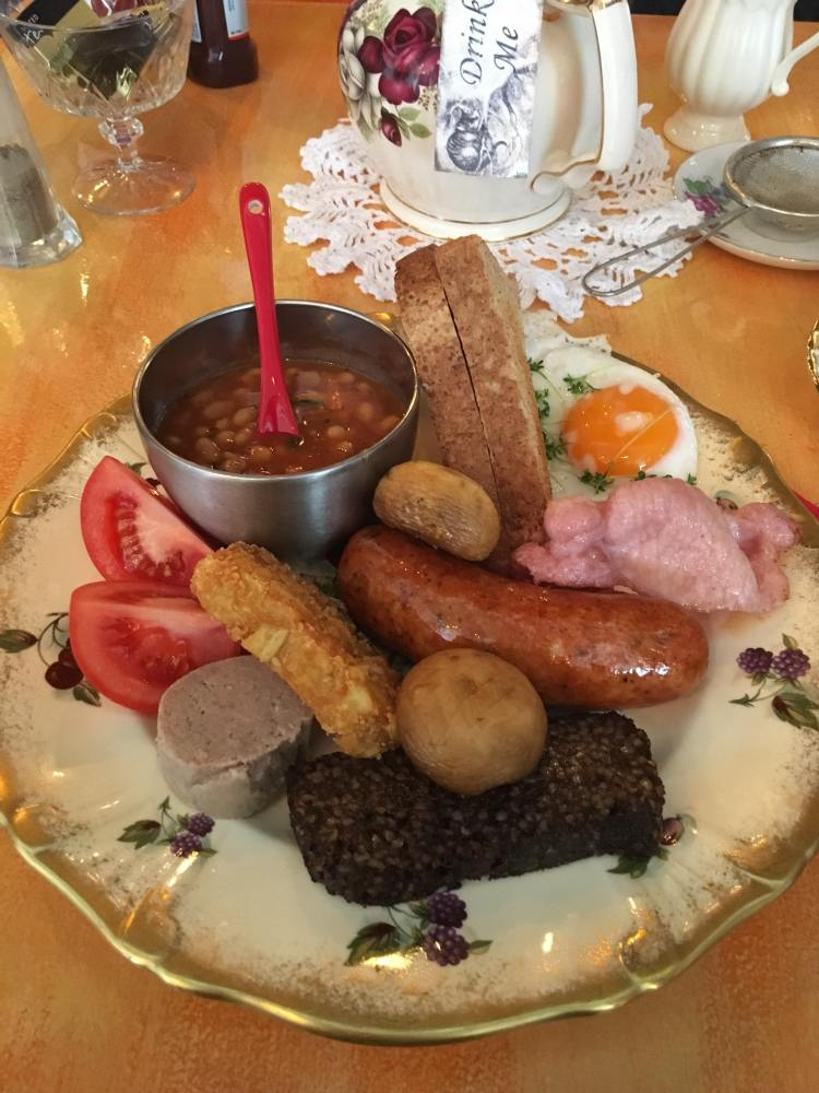 Old Dresser Cafe - Full English Breakfast - Bearwood