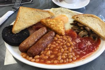 Serenity Cafe - Full English Breakfast