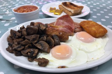 Andys Cafe Newquay - Full English Breakfast