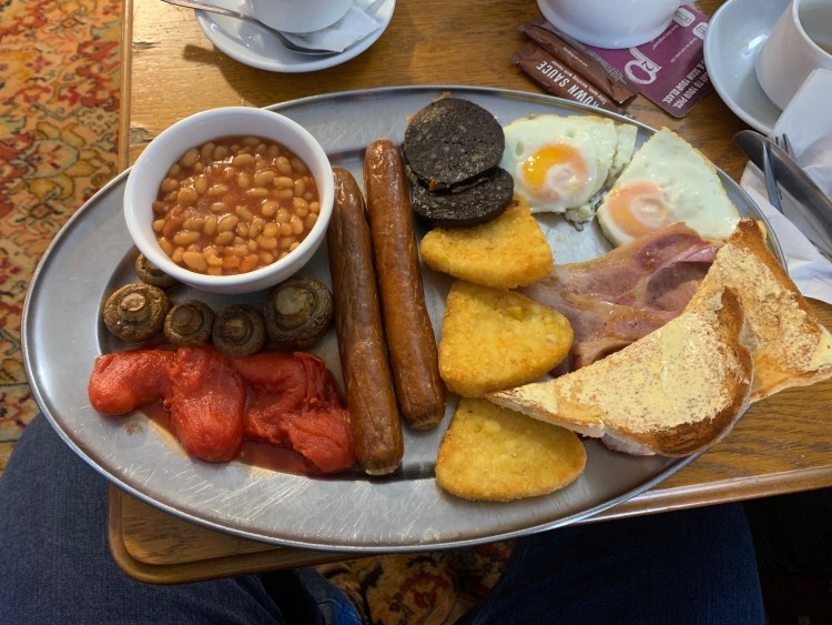 Blue Bell Cider House - Large Full English Breakfast