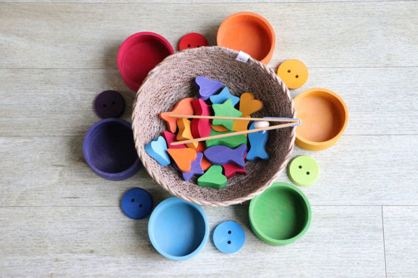 The Maples Day Nursery - loose parts