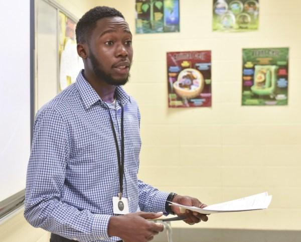 African American Male Teacher