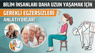 Photo of Bilim İnsanları Daha Uzun Yaşamak için Gerekli Egzersizleri Anlatıyorlar!