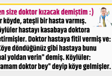 Photo of BEN SİZE DOKTOR KIZACAK DEMİŞTİM :)