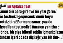 Photo of En Aptalca Test