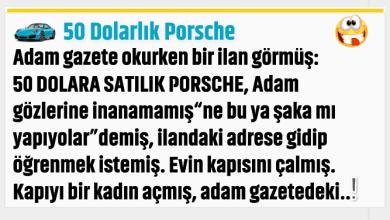 Photo of 50 Dolarlık Porsche
