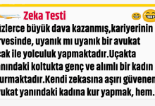 Photo of Zeka Testi