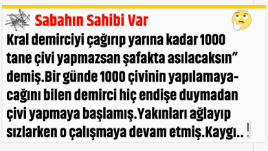 Photo of Sabahın Sahibi Var