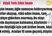 Photo of Köyü Terk Eden İmam