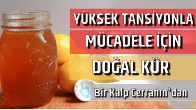 Photo of Yüksek Tansiyonla Mücadele İçin Doğal Kür!