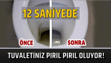 Photo of 12 Saniyede Tuvaletiniz Pırıl Pırıl Oluyor!