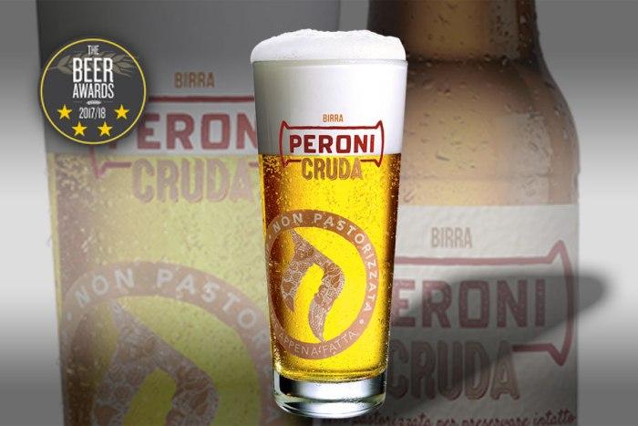 The Beer Awards 2017, successo stellato per Peroni Cruda