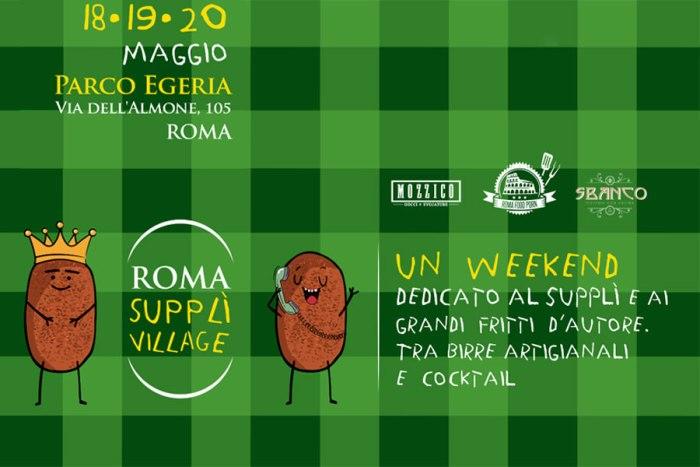 Dal 18 al 20 maggio a Roma si celebra la famosa polpetta di riso e il fritto d'autore, accompagnati da birre artigianali e cocktail