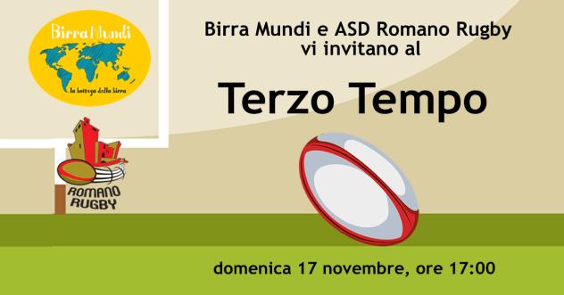 evento terzo tempo rugby romano