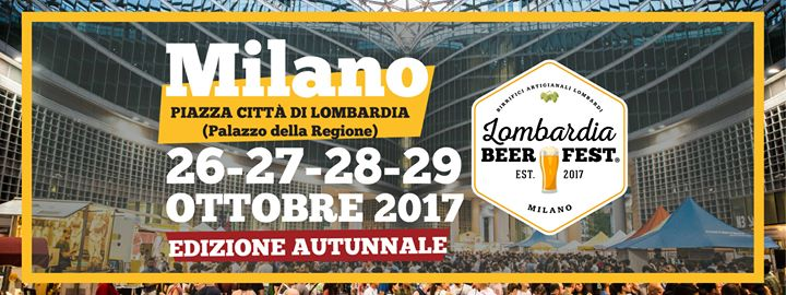 Lombardia Beer Fest Milano Autunno 2017