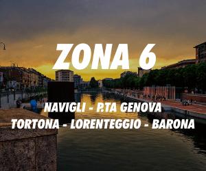 Zona 6 Milano Navigli Porta Genova Tortona Lorenteggio Barona
