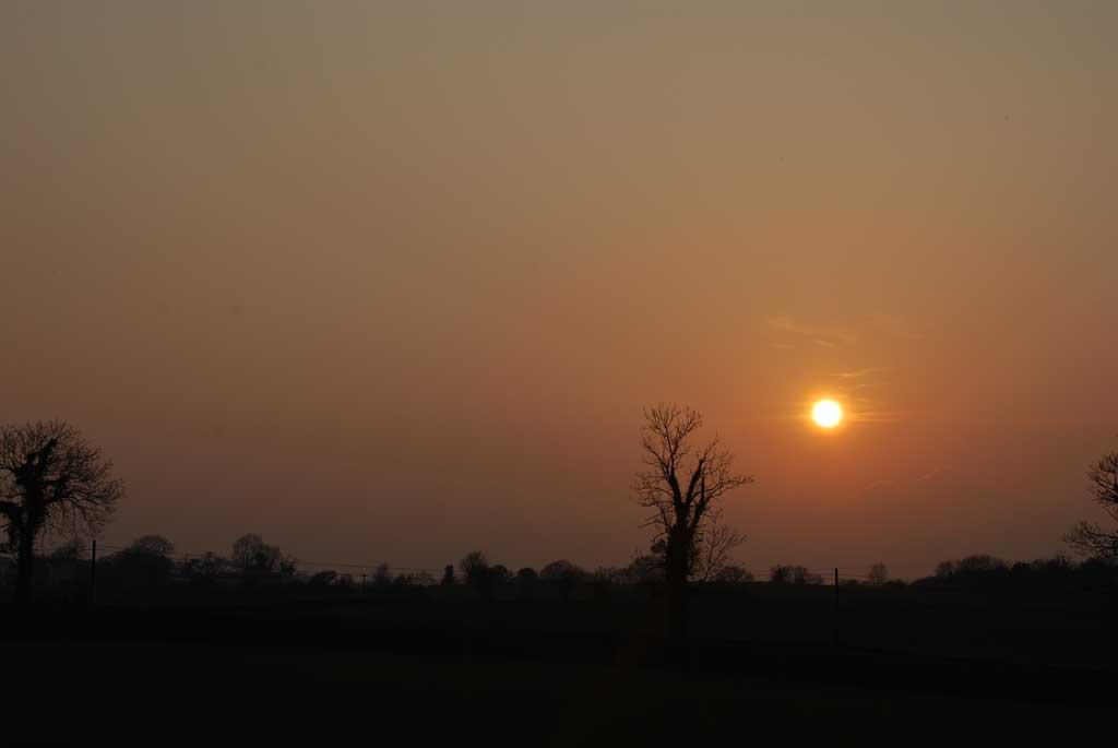 sky sunset scene