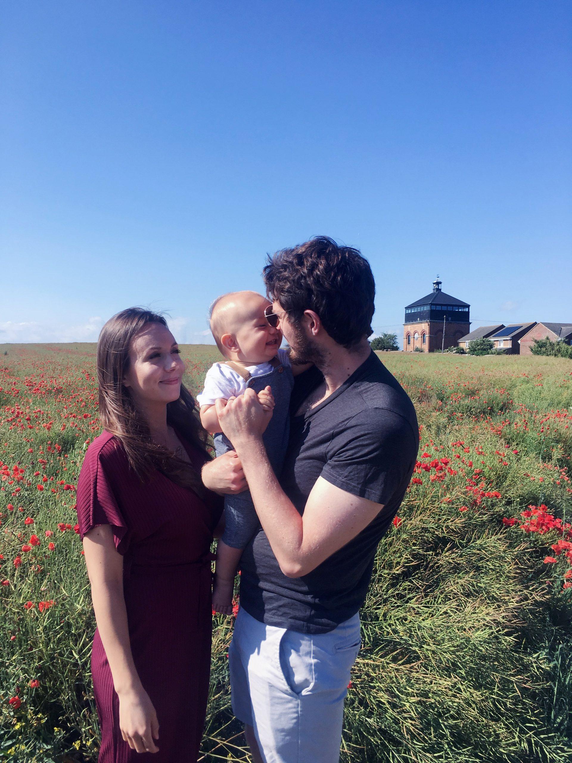 Maria & baby lukas