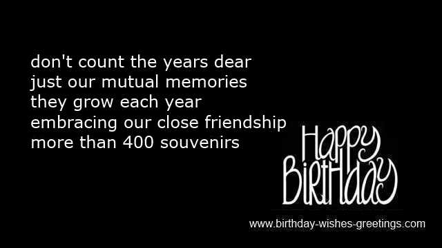 40th birthday wishes and
