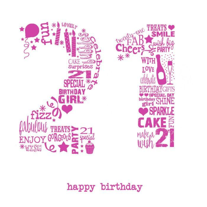Happy 21st Birthday Wishes Pictures Latest Collection Of