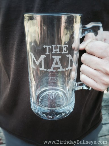 Man Mug Etched