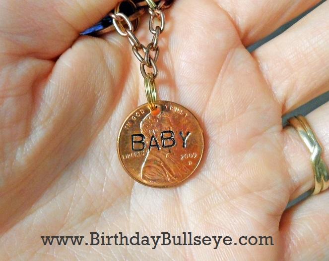 Baby Penny Charm Birthday Gift