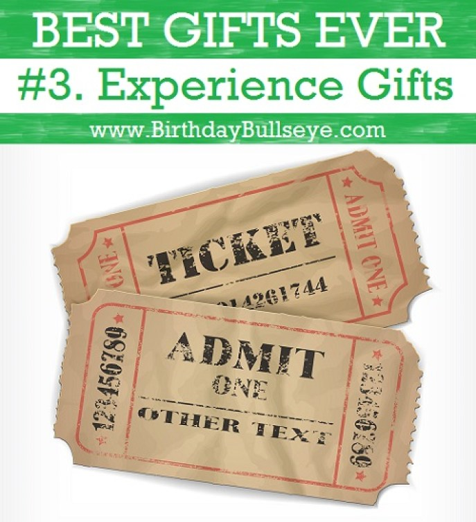Birthday Experience Gifts